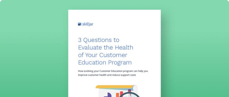 Evaluating customer health ebook
