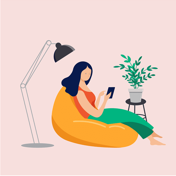 Remote Worker_Beanbag