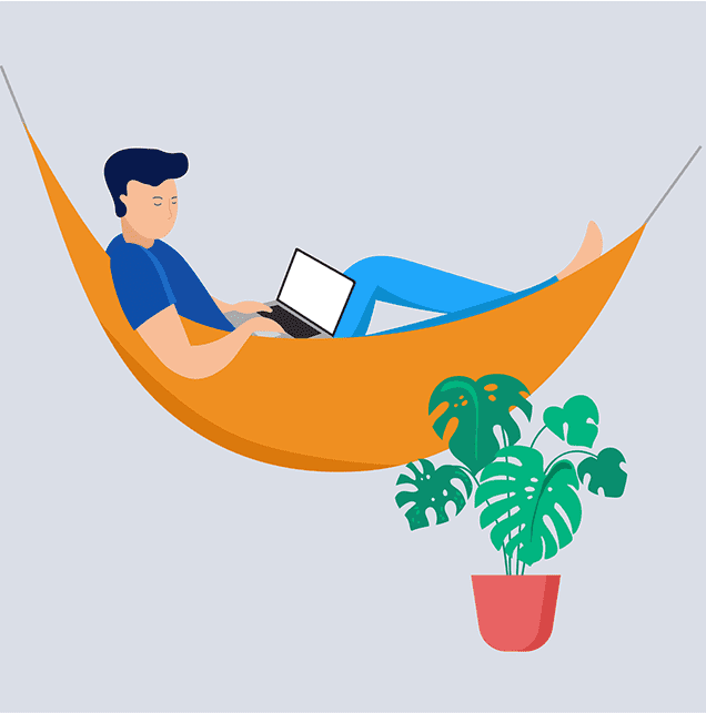 Remote Worker_Hammock