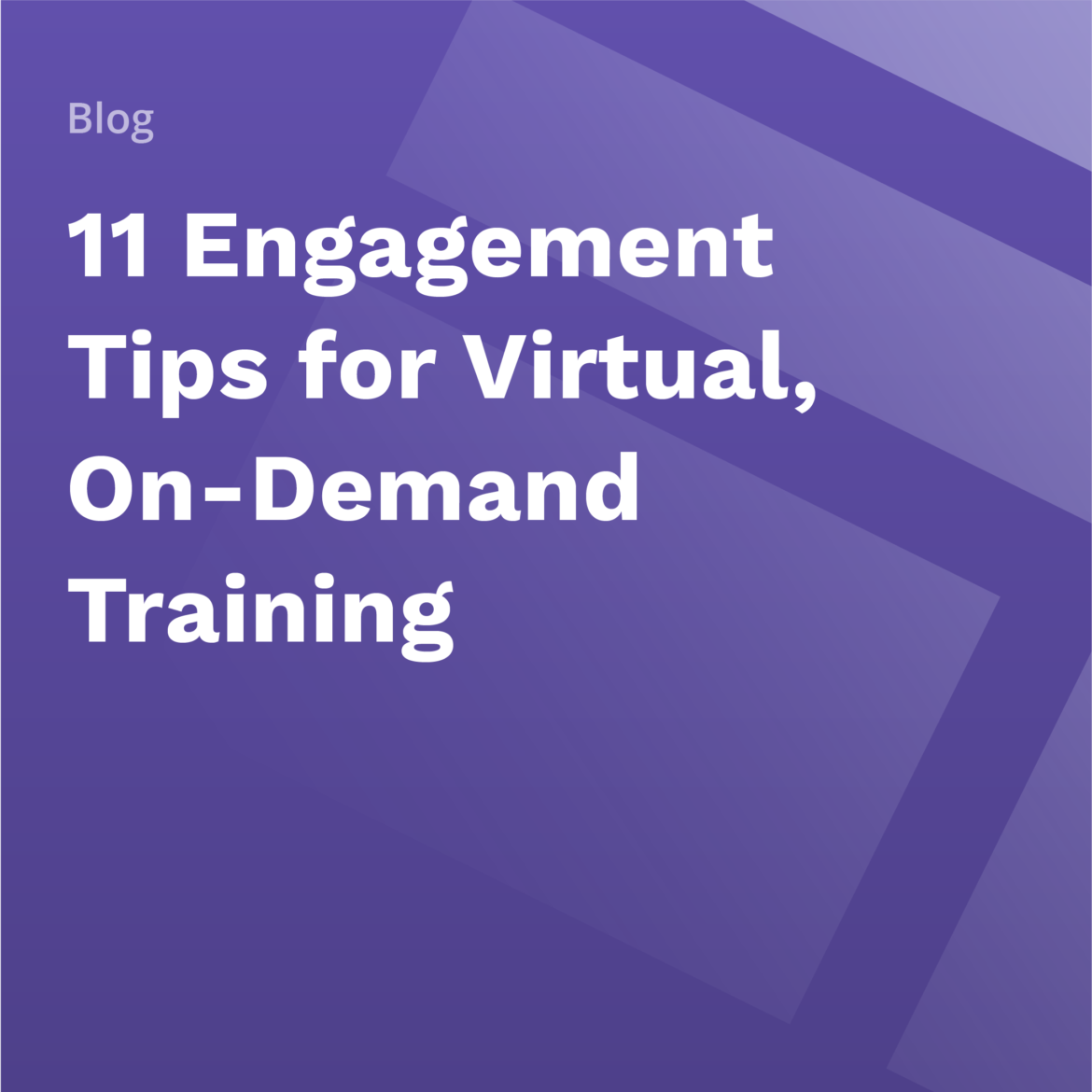 On-Demand Training Tips