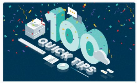 100 Quick Tips for Customer Education